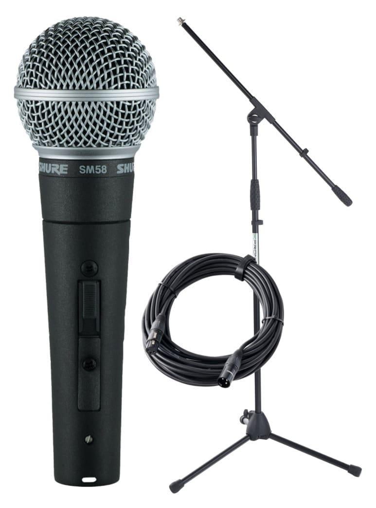 Shure SM 58 SE Mikrofon Set Ständer Kabel