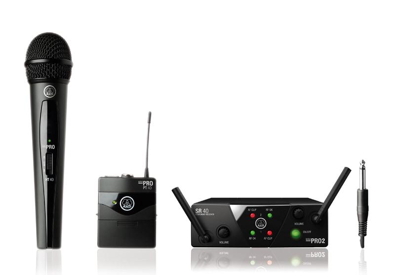 Drahtlossysteme - AKG WMS 40 Mini2 Vocal Intrumental Set Dual - Onlineshop Musikhaus Kirstein