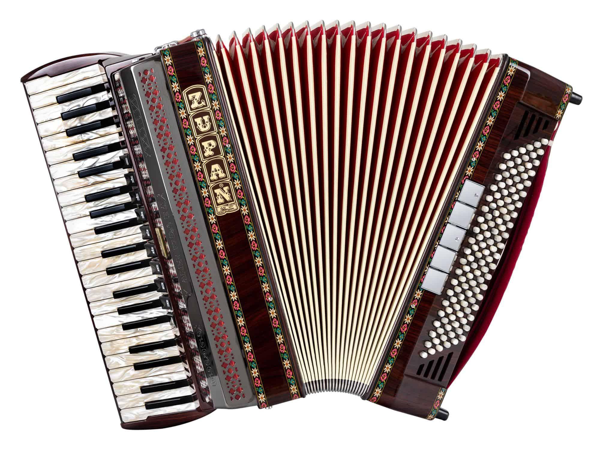 Akkordeons - Zupan Alpe IV 120 EA|MHR Cassotto Akkordeon Palisander - Onlineshop Musikhaus Kirstein