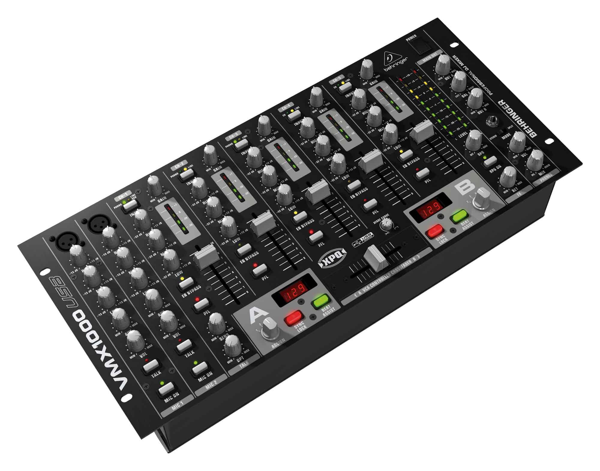 Djmixer - Behringer VMX1000 USB DJ Mixer - Onlineshop Musikhaus Kirstein