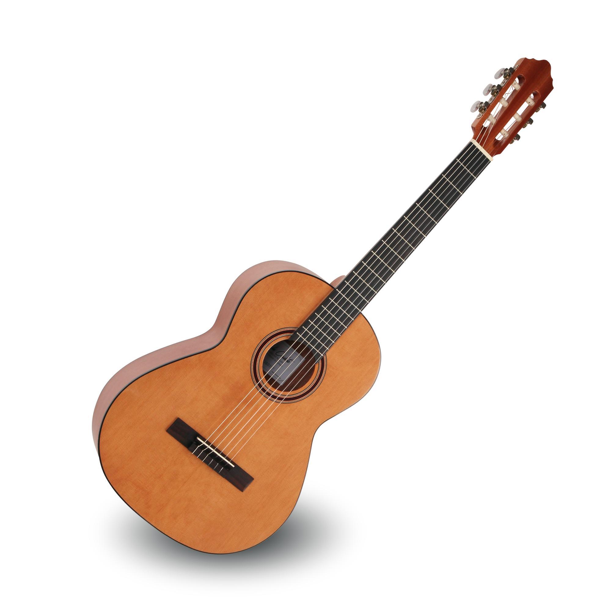 Calida Cadete Konzertgitarre 7|8 Zeder Hochglanz