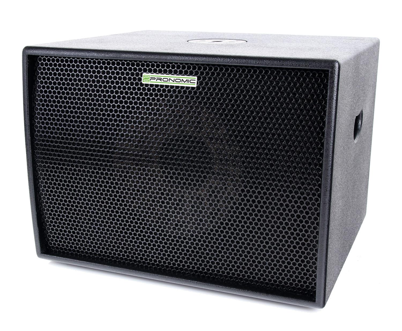 pronomic diva 1200 subex stereo aktiv subwoofer. Black Bedroom Furniture Sets. Home Design Ideas