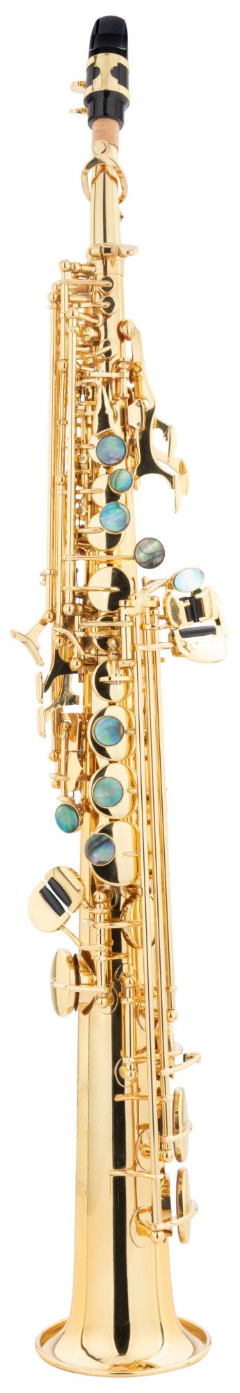 Saxophone - Lechgold LSS 20L Sopran Saxophon lackiert - Onlineshop Musikhaus Kirstein
