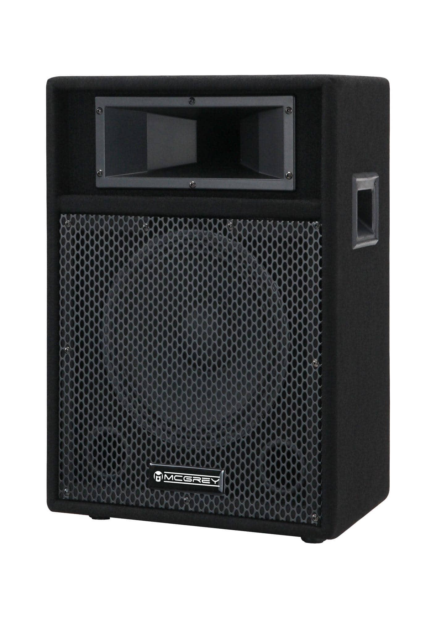 Paboxen - McGrey PA 110 passive PA Lautsprecher Box 200 Watt - Onlineshop Musikhaus Kirstein