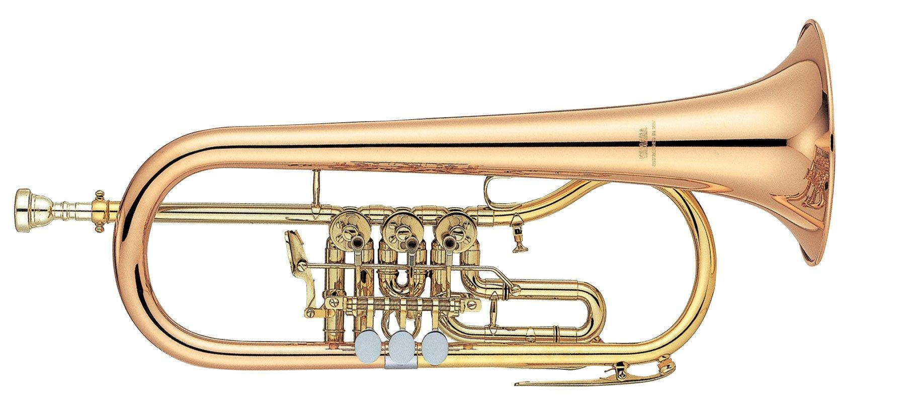Yamaha YFH 436G Flügelhorn Drehventil