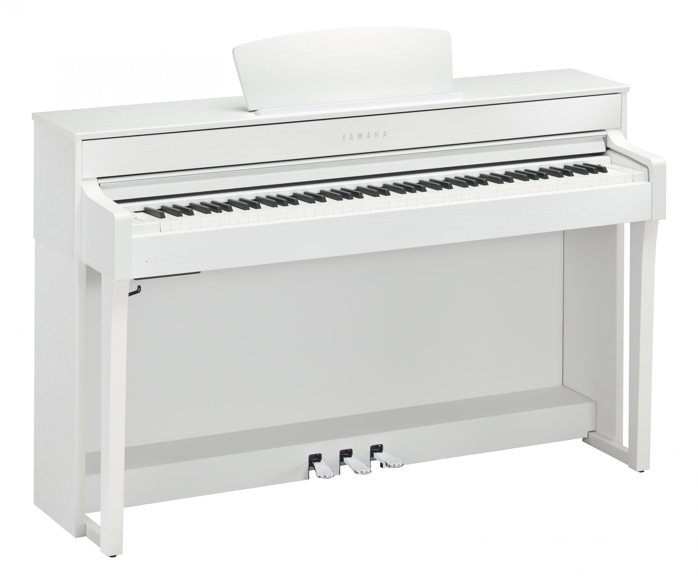 Yamaha CLP 635 WH Digitalpiano weiß matt