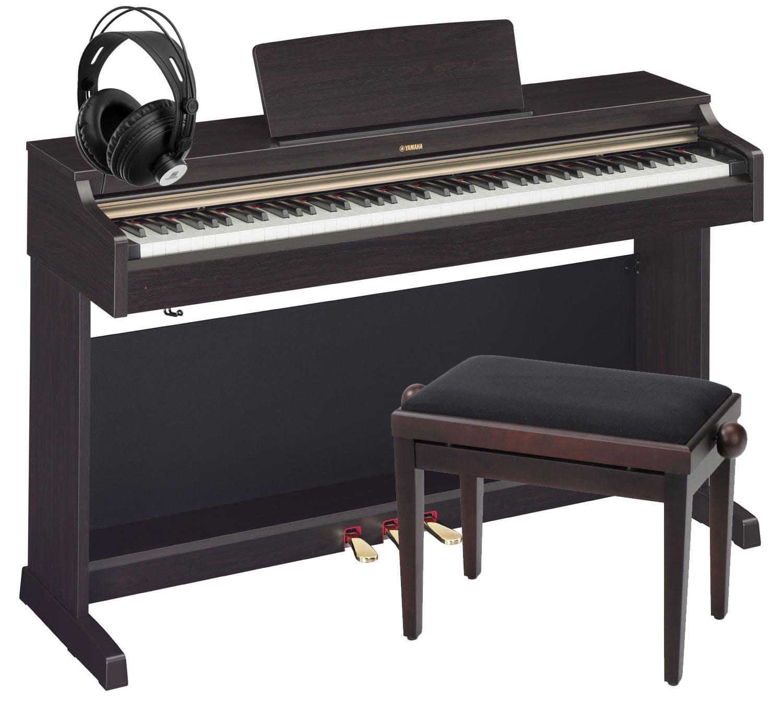 yamaha ydp 162 r arius digitalpiano rosenholz set inkl. Black Bedroom Furniture Sets. Home Design Ideas