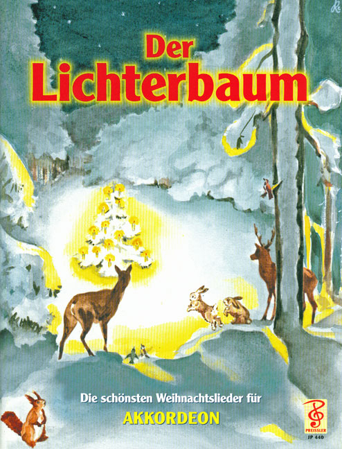 Der Lichterbaum Die schönsten Weihnachtslieder für Akkordeon