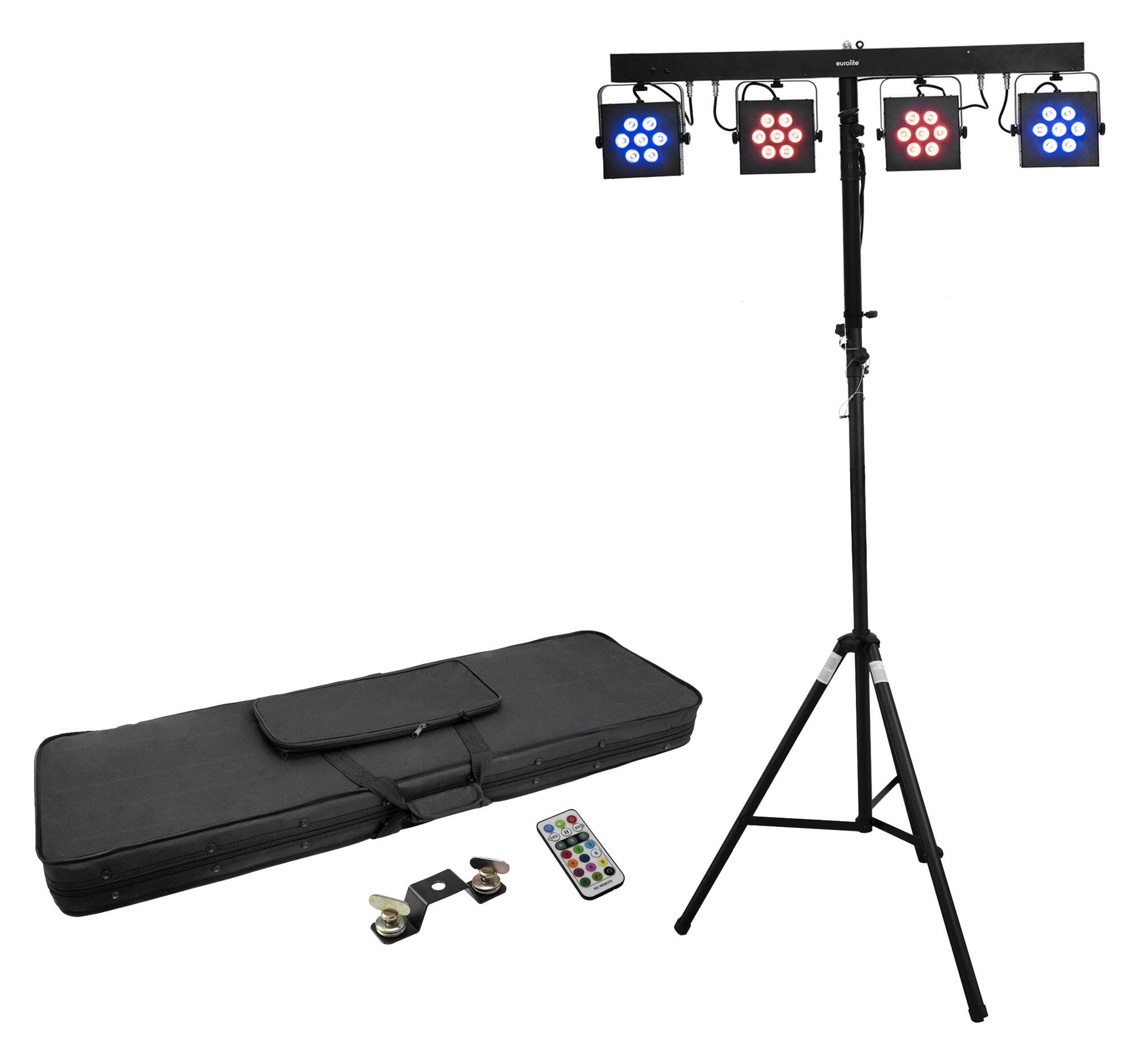 Lichtsets - Eurolite LED KLS 3002 Next Kompakt Lichtset mit Stativ - Onlineshop Musikhaus Kirstein