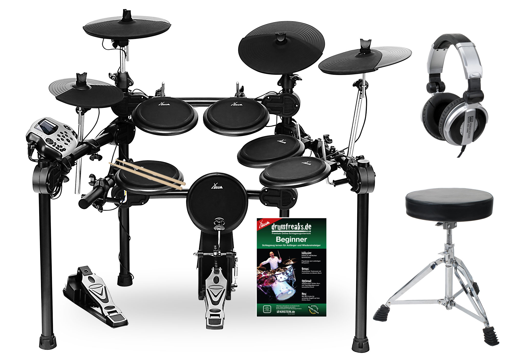 XDrum DD 520 PLUS E Drum Kit SET 1