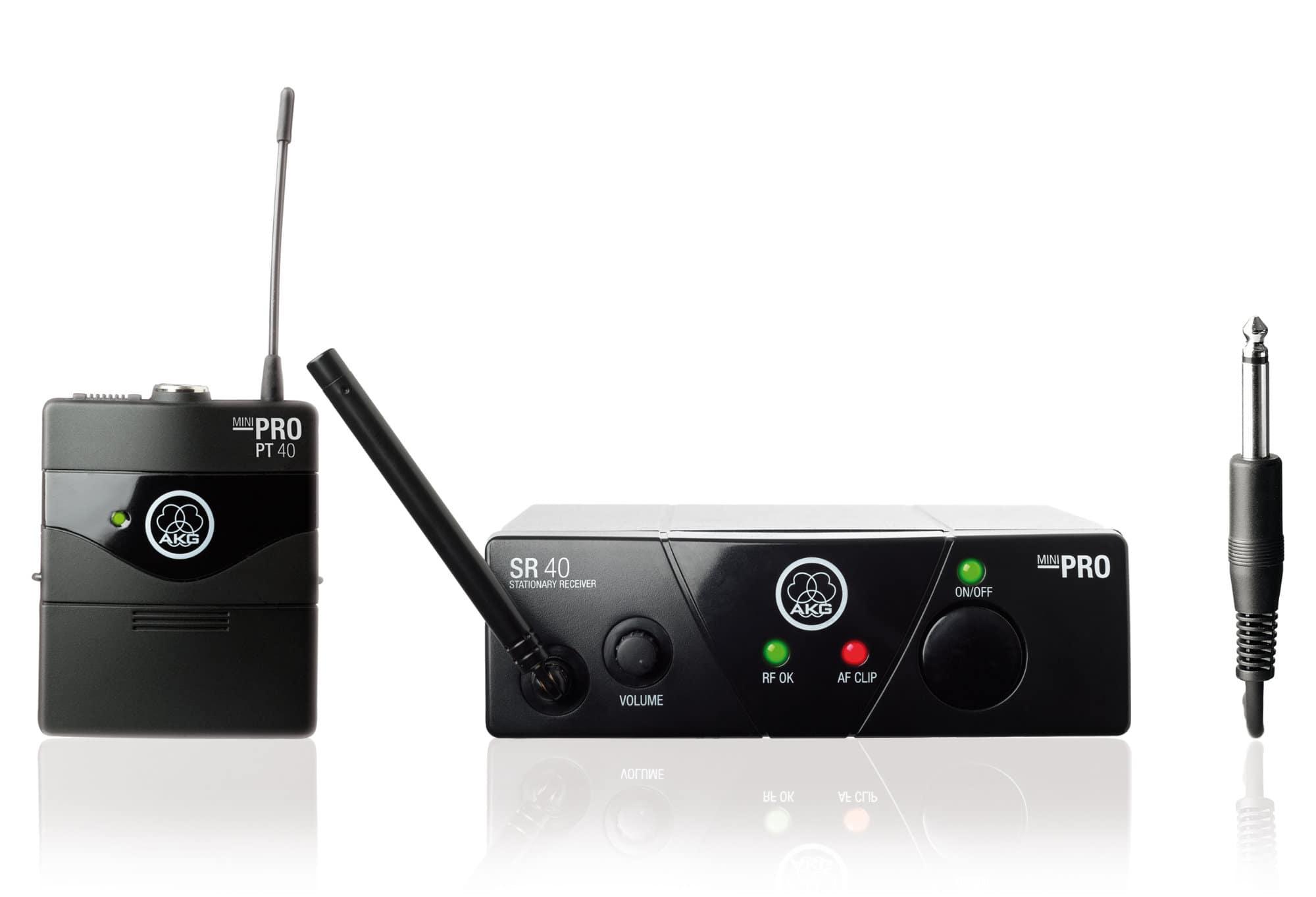 AKG WMS 40 Mini Instrument Funkset ISM1, 863,100 MHz