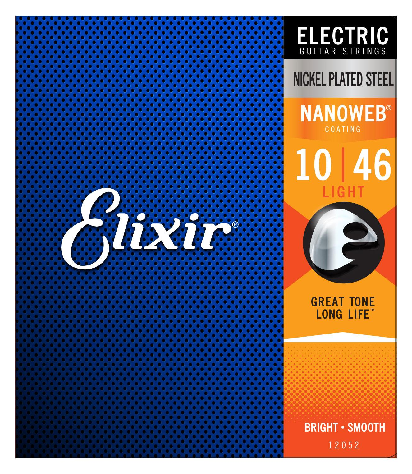 Saiten - Elixir 12052 Electric Nanoweb Light - Onlineshop Musikhaus Kirstein
