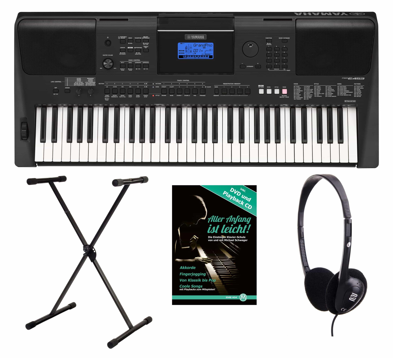 Yamaha PSR E453 Keyboard Set