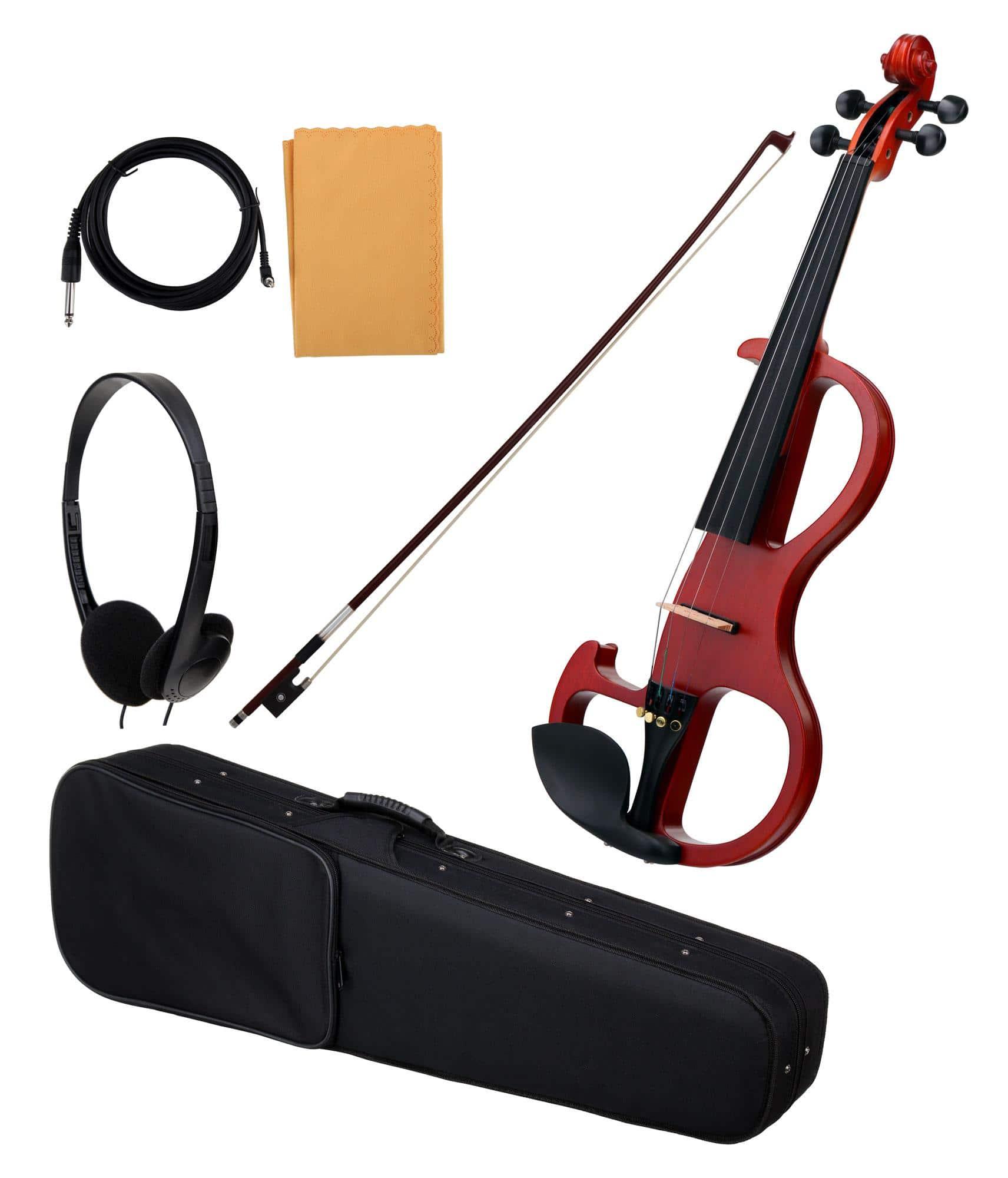 Violinen - Classic Cantabile EV 90 E Violine natur matt - Onlineshop Musikhaus Kirstein