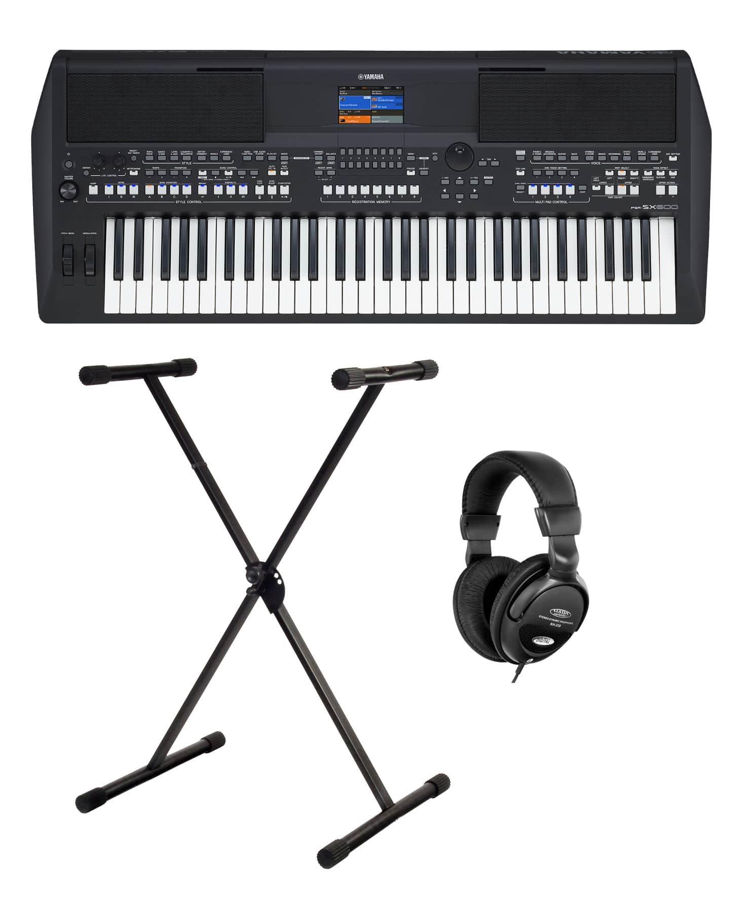 Homekeyboards - Yamaha PSR SX600 Keyboard Set - Onlineshop Musikhaus Kirstein