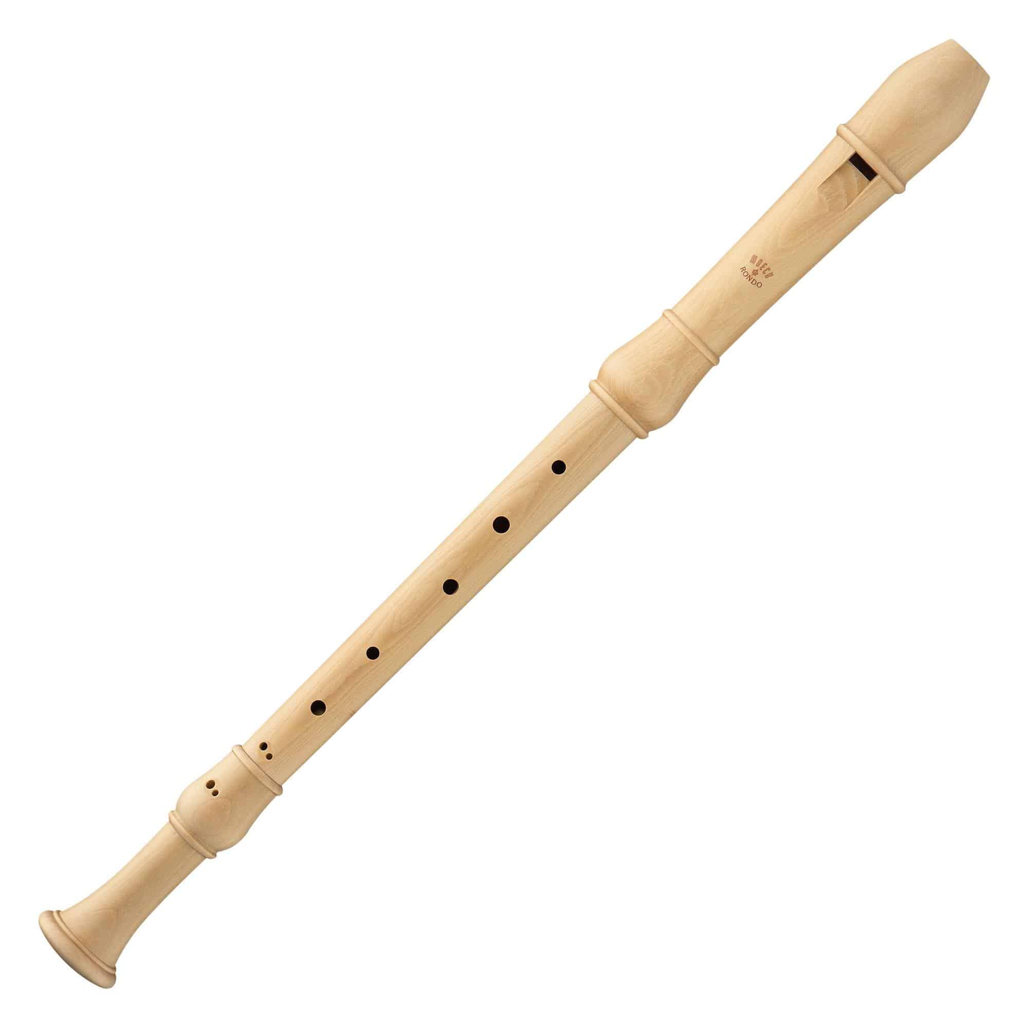 Sonstigeblasinstrumente - Moeck 2400 Tenor Flauto Rondo Barock Ahorn - Onlineshop Musikhaus Kirstein