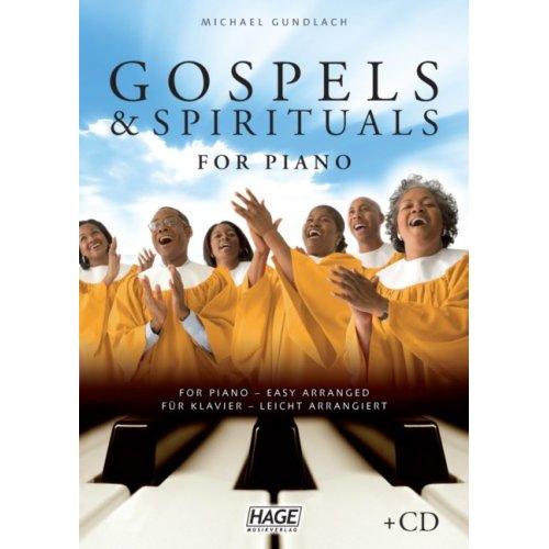 Gospels Spirituals for piano CD Leicht arrangiert
