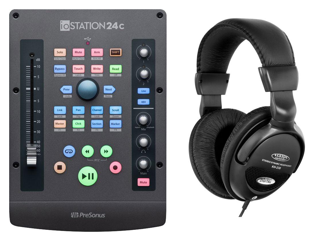 Pchardware - Presonus ioStation 24c Audio Interface Set - Onlineshop Musikhaus Kirstein