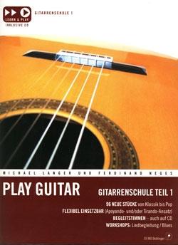 Play Guitar Gitarrenschule 1 CD DO35903