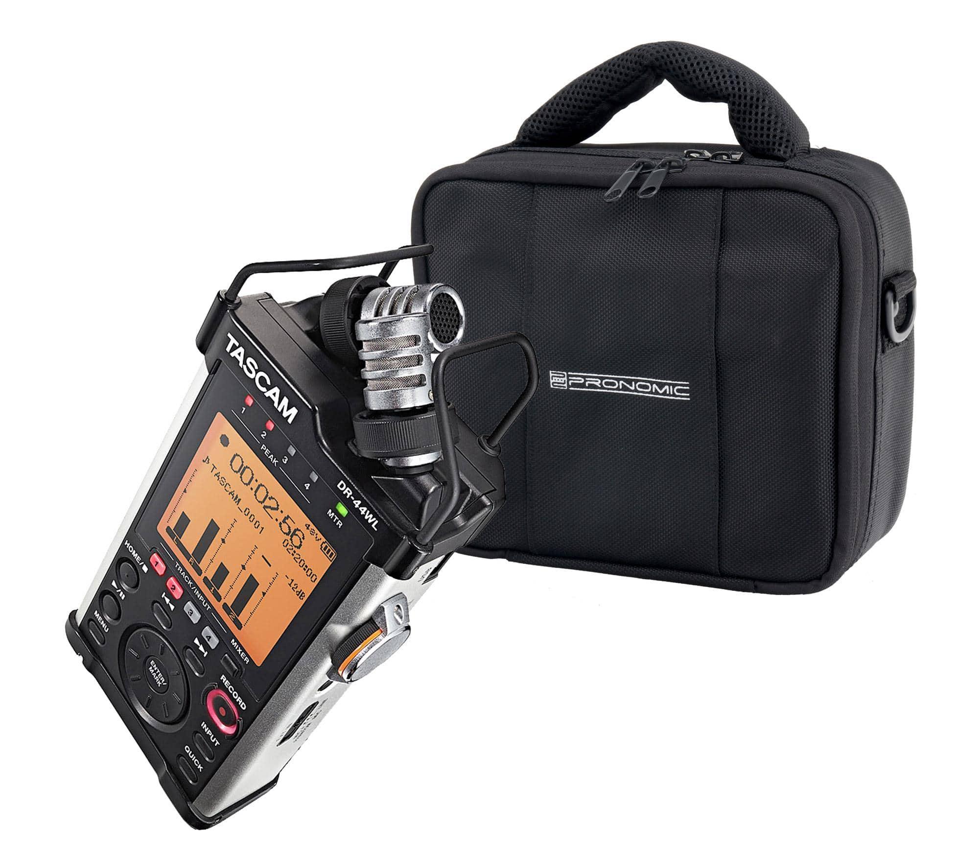 Recording - Tascam DR 44WL Handheld Recorder Set inkl. Tasche - Onlineshop Musikhaus Kirstein
