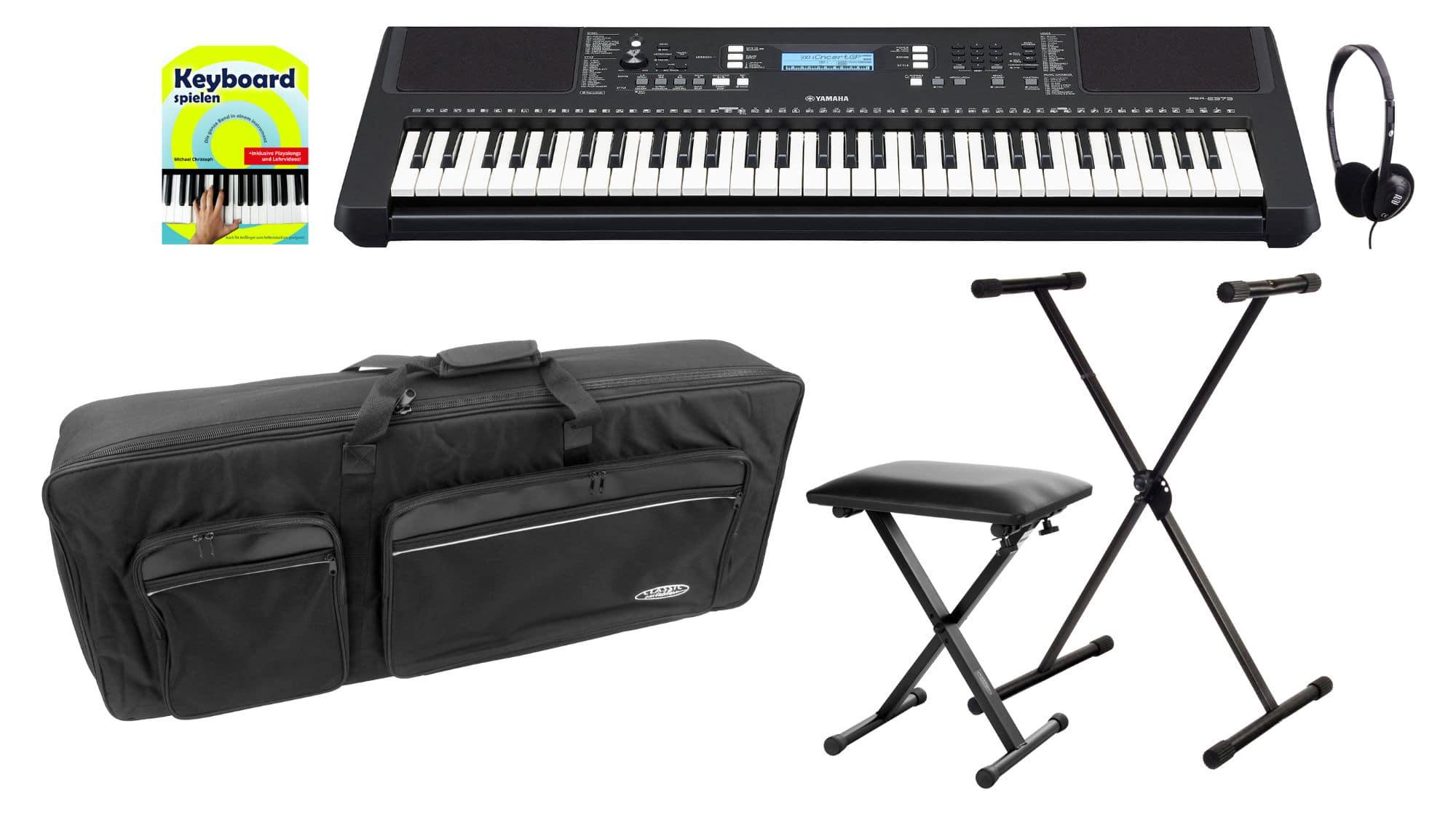 Homekeyboards - Yamaha PSR E373 Keyboard Deluxe Set - Onlineshop Musikhaus Kirstein