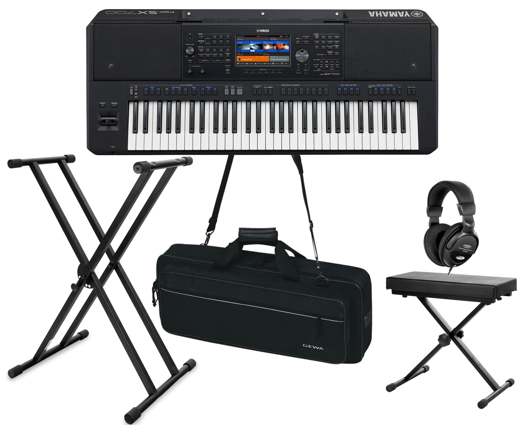 Homekeyboards - Yamaha PSR SX700 Keyboard Deluxe Set - Onlineshop Musikhaus Kirstein