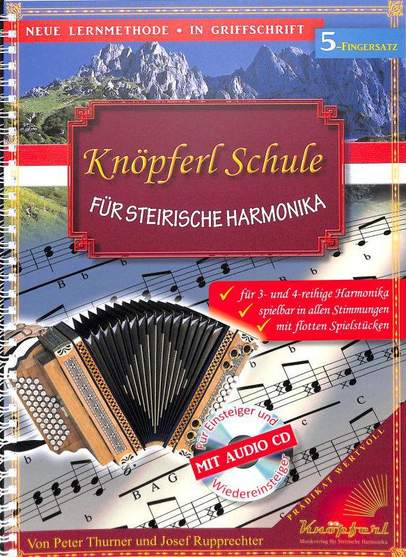 Knöpferl Schule für Steirische Harmonika Teil 1 CD