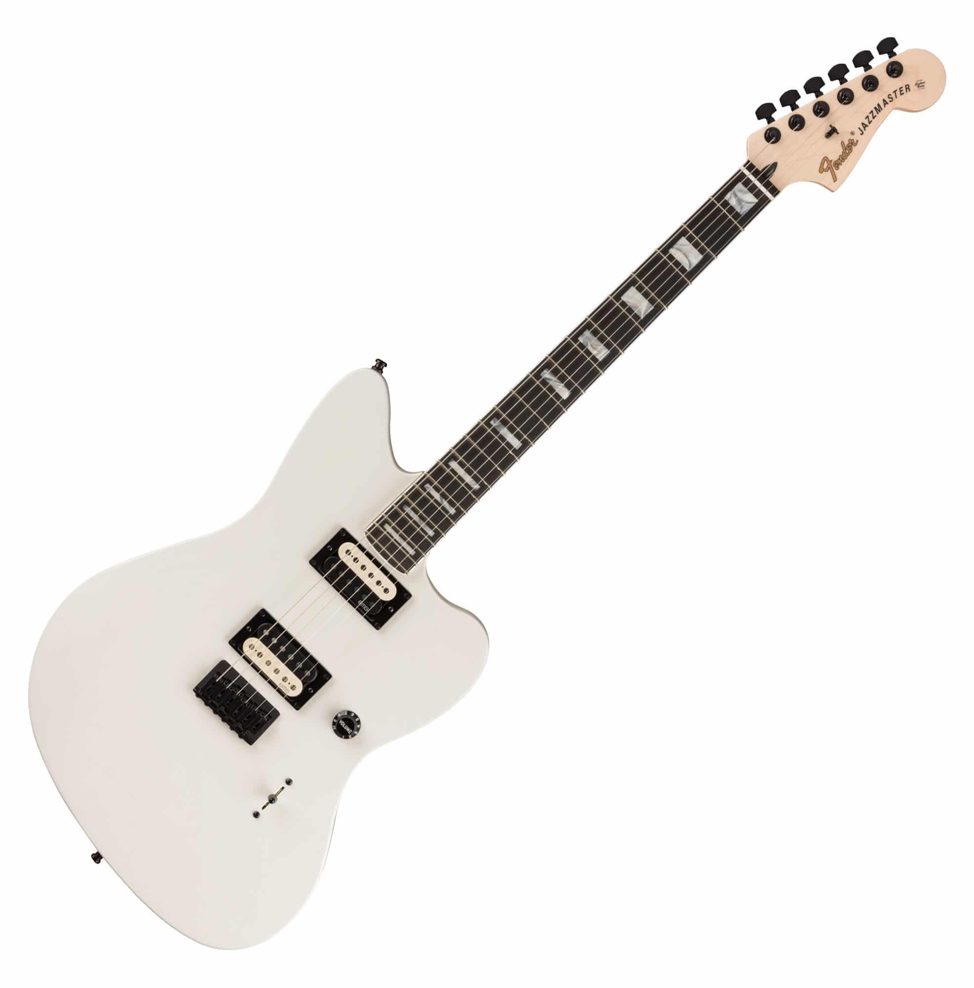 Egitarren - Fender Jim Root Jazzmaster EBY WHT - Onlineshop Musikhaus Kirstein