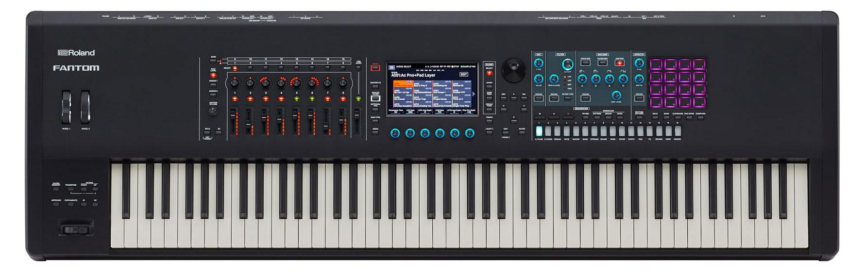 Synthesizer - Roland Fantom 8 - Onlineshop Musikhaus Kirstein