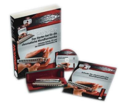Hohner Step by Step Chromonica Starter Set