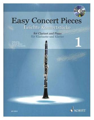 Klarinettelernen - Easy Concert Pieces 1 für Klarinette und Klavier - Onlineshop Musikhaus Kirstein