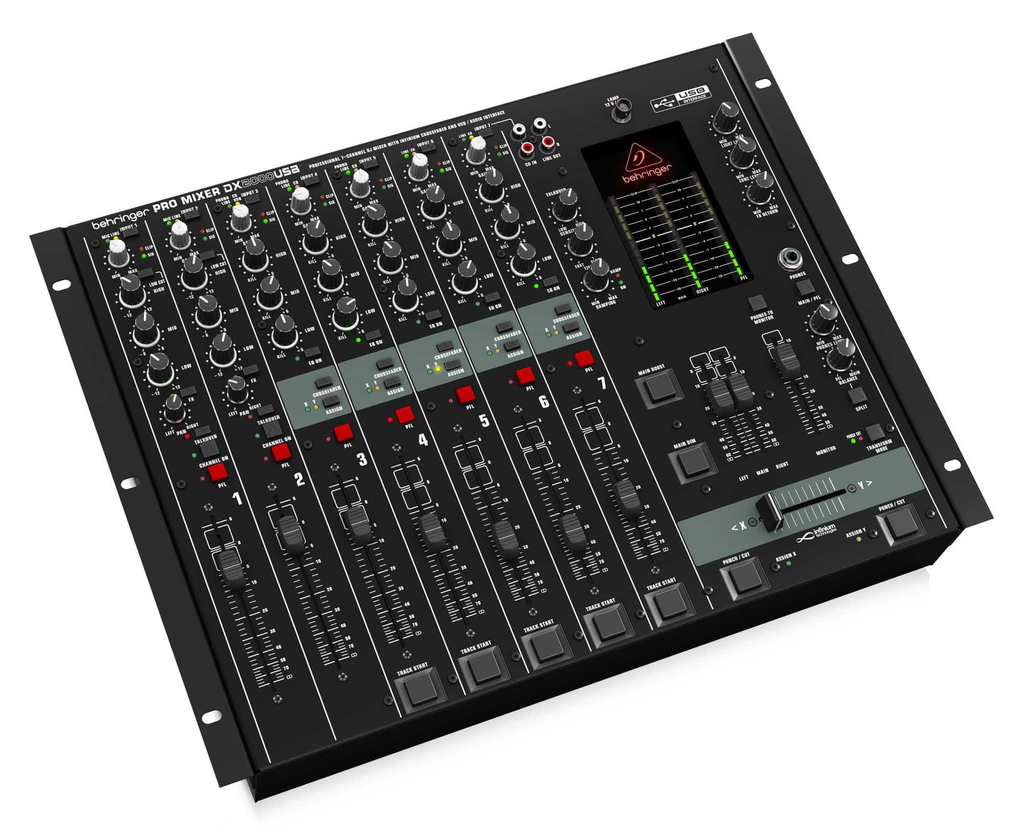 Behringer DX2000 USB DJ Mischpult