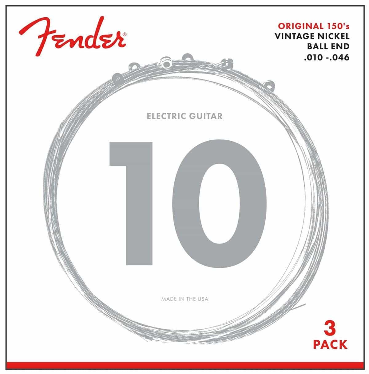 Fender 150R Vintage Nickel 3er Pack