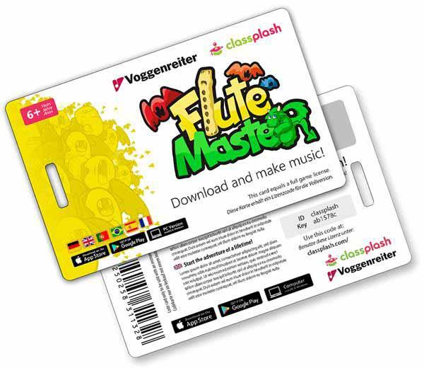 Voggenreiter Flute Master App