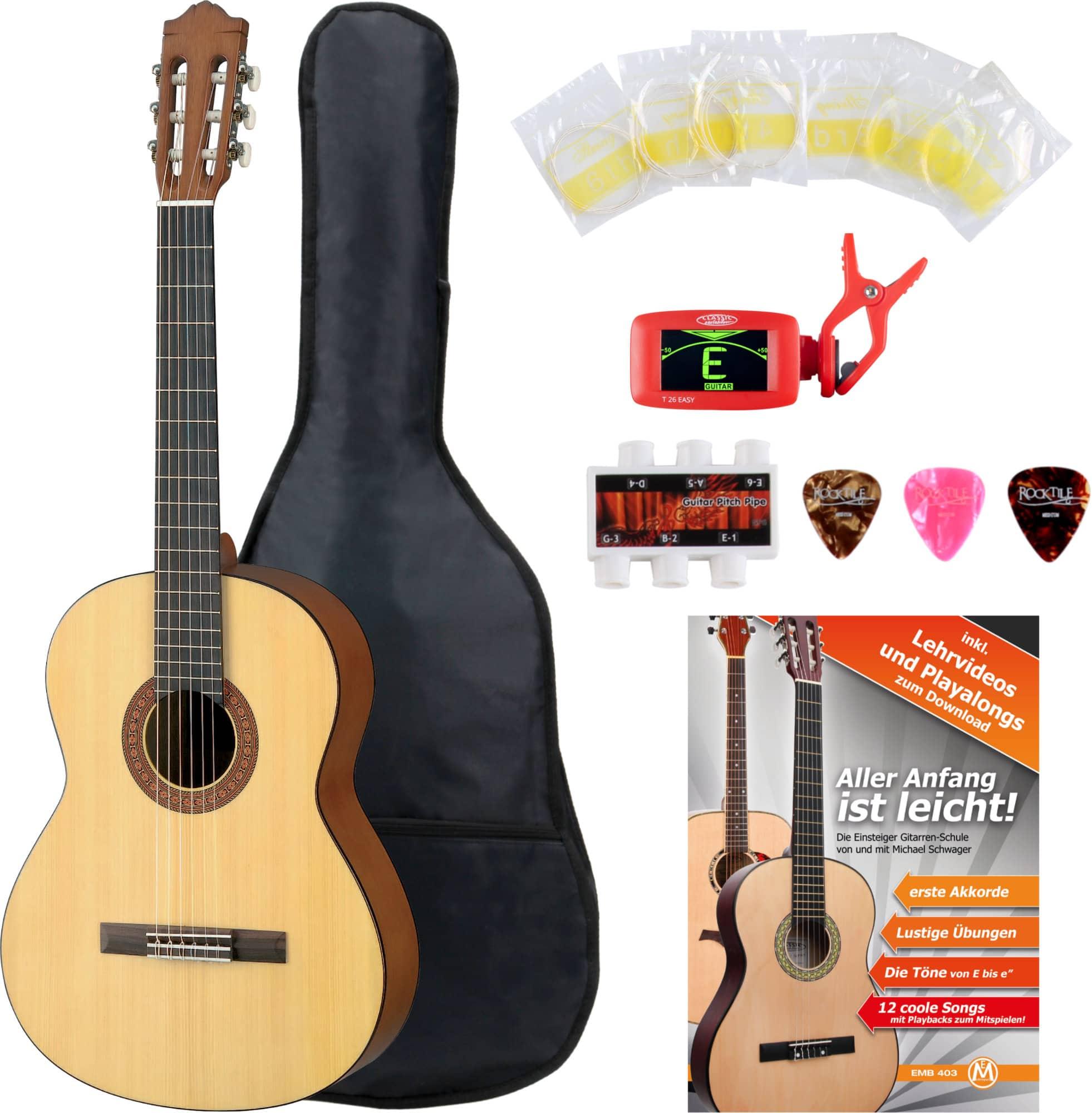 Yamaha C40M Konzertgitarre SET inkl. Zubehörset + Tuner