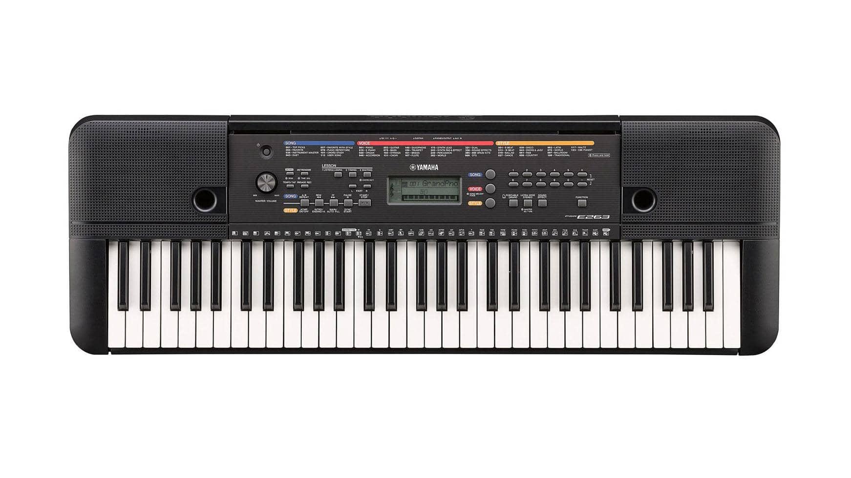Yamaha PSR E263 Keyboard