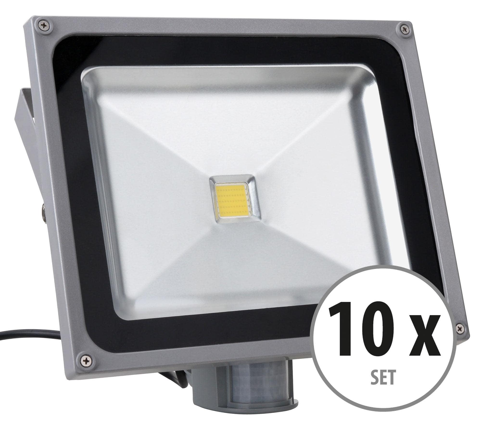 showlite fl 2050b led fluter ip65 50 watt 5500 lumen 10er set. Black Bedroom Furniture Sets. Home Design Ideas