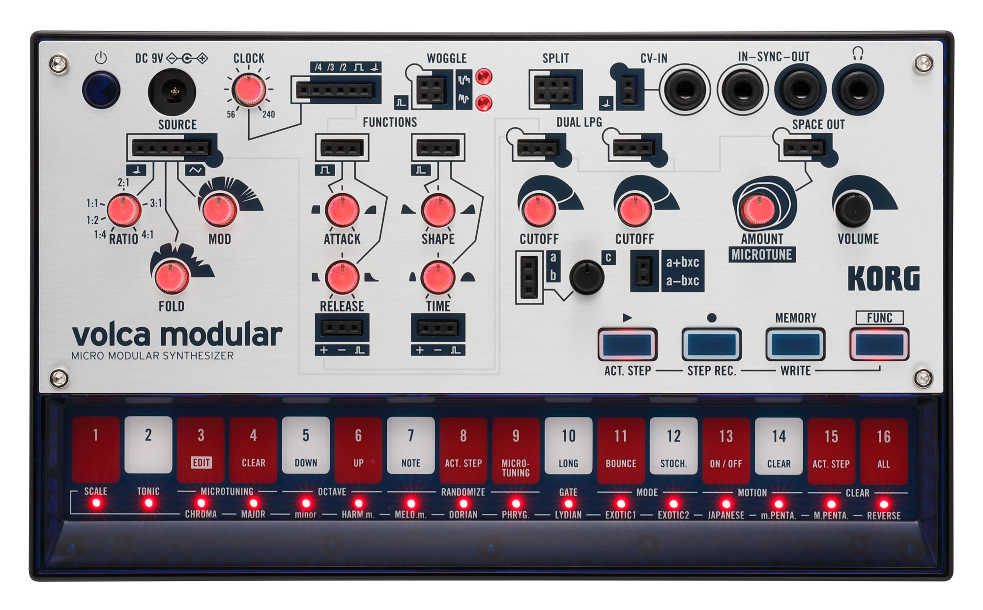Synthesizer - Korg Volca Modular - Onlineshop Musikhaus Kirstein