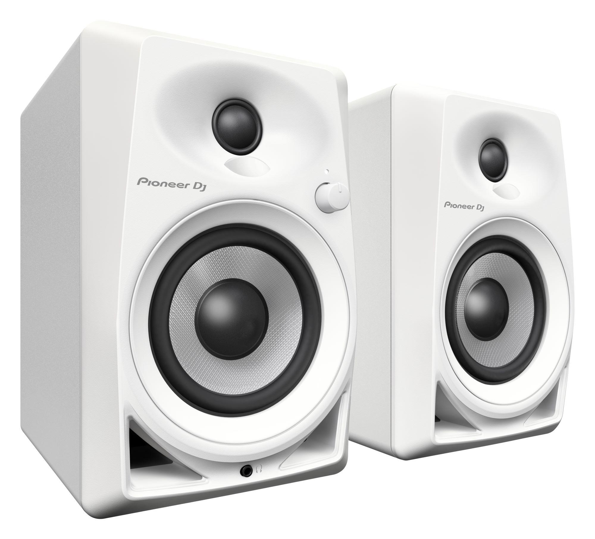Studiomonitore - Pioneer DJ DM 40 W Weiß Paar - Onlineshop Musikhaus Kirstein