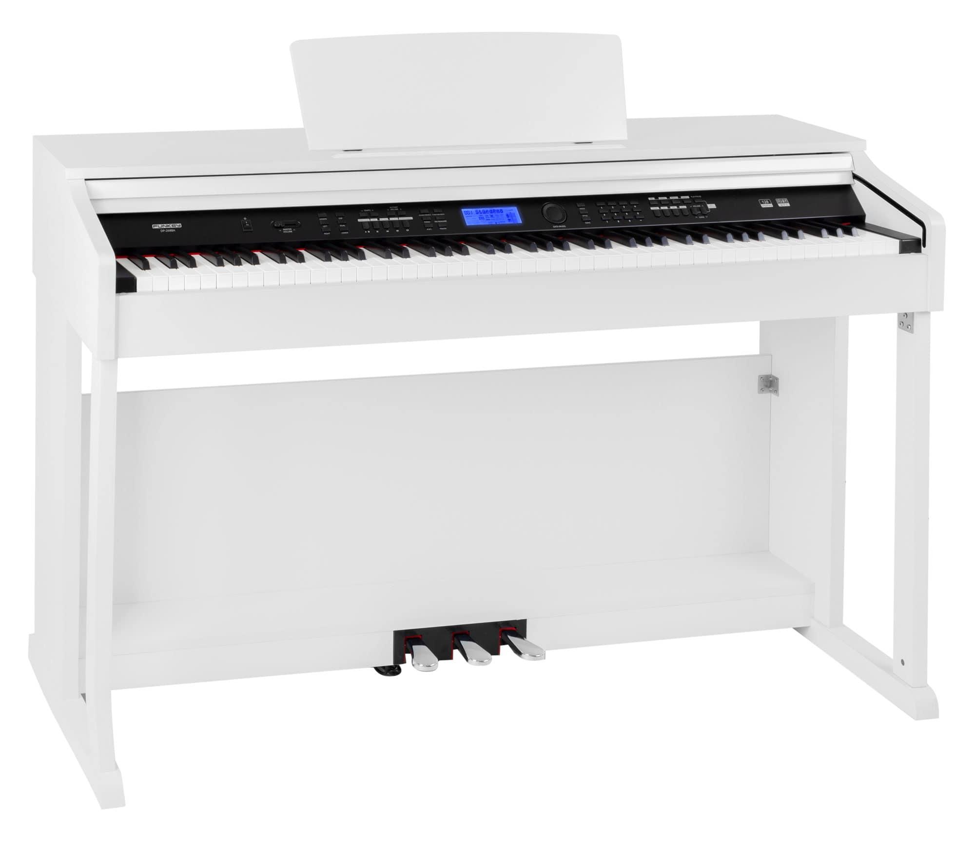 Homekeyboards - FunKey DP 2688A WM Digitalpiano weiß matt - Onlineshop Musikhaus Kirstein
