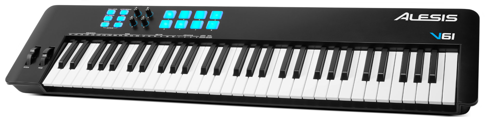 Midimasterkeyboards - Alesis V61 MKII MIDI Controller Keyboard - Onlineshop Musikhaus Kirstein