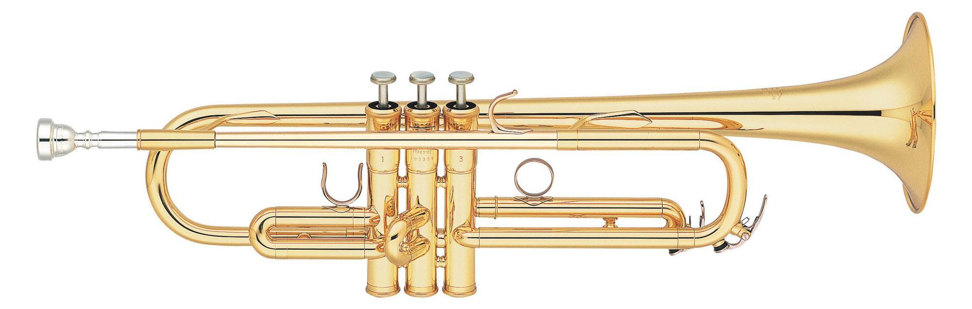 Yamaha Custom YTR 6310 Z Bb Trompete Goldlack