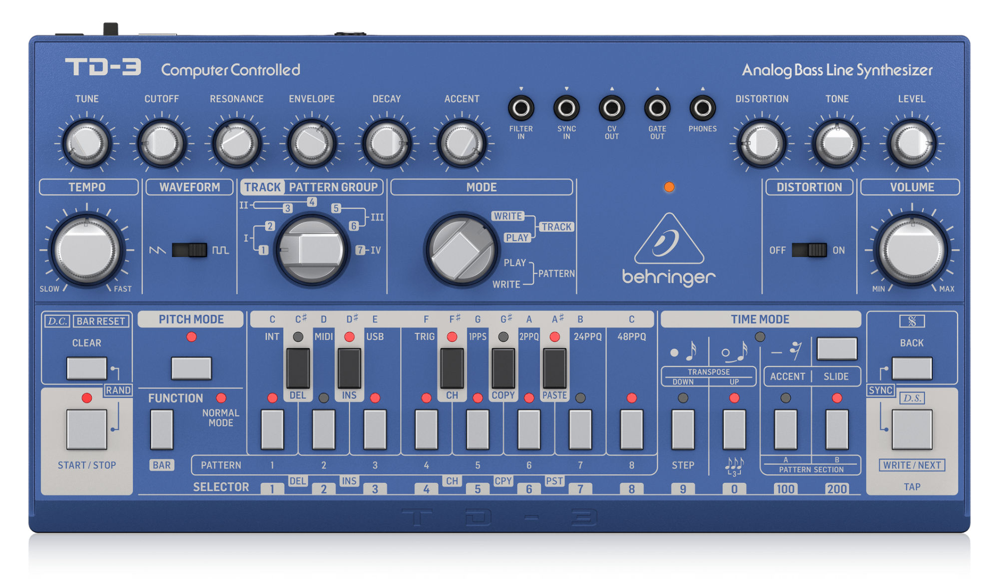 Synthesizer - Behringer TD 3 BU Bass Line Synthesizer - Onlineshop Musikhaus Kirstein