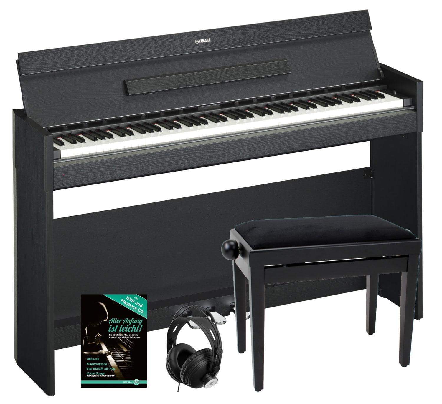 Yamaha arius ydp s52 b digitalpiano schwarz set inkl bank for Yamaha ydp s52