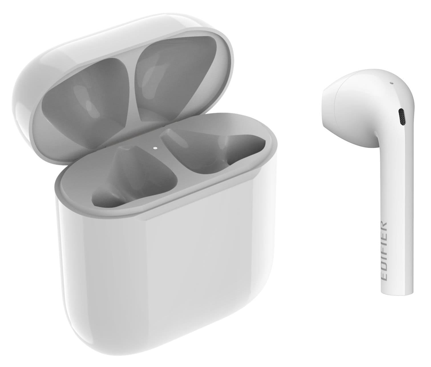 Kopfhoerer - Edifier EdiCall TWS600 Bluetooth In Ear Kopfhörer, weiß - Onlineshop Musikhaus Kirstein