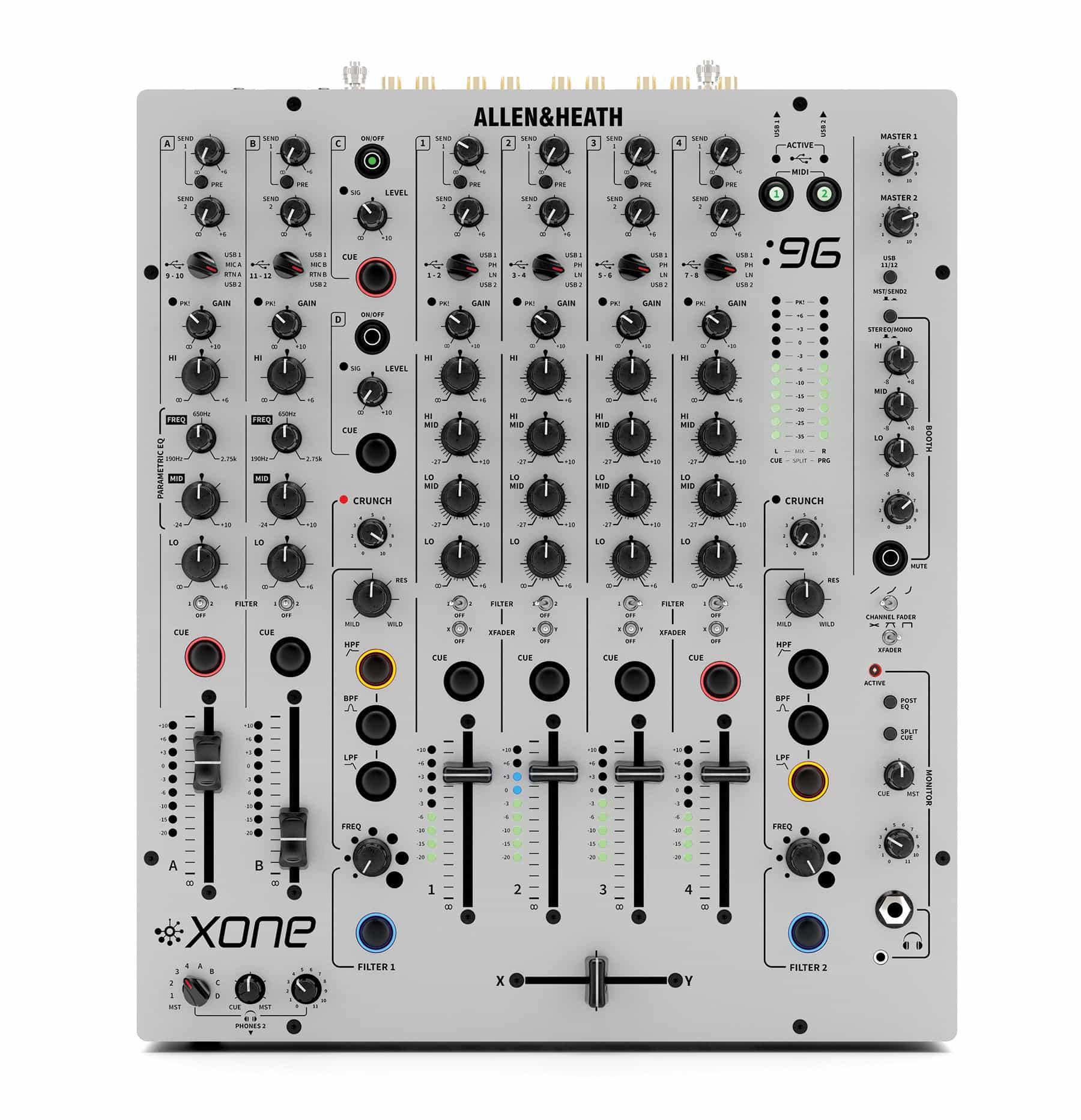 Djmixer - Allen Heath Xone 96 - Onlineshop Musikhaus Kirstein