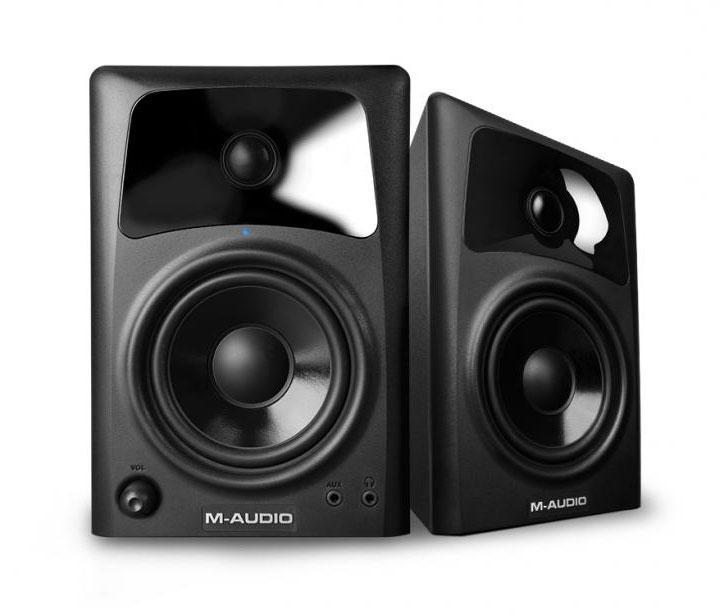 M Audio Studiophile AV42 Paar Aktiv Lautsprecher