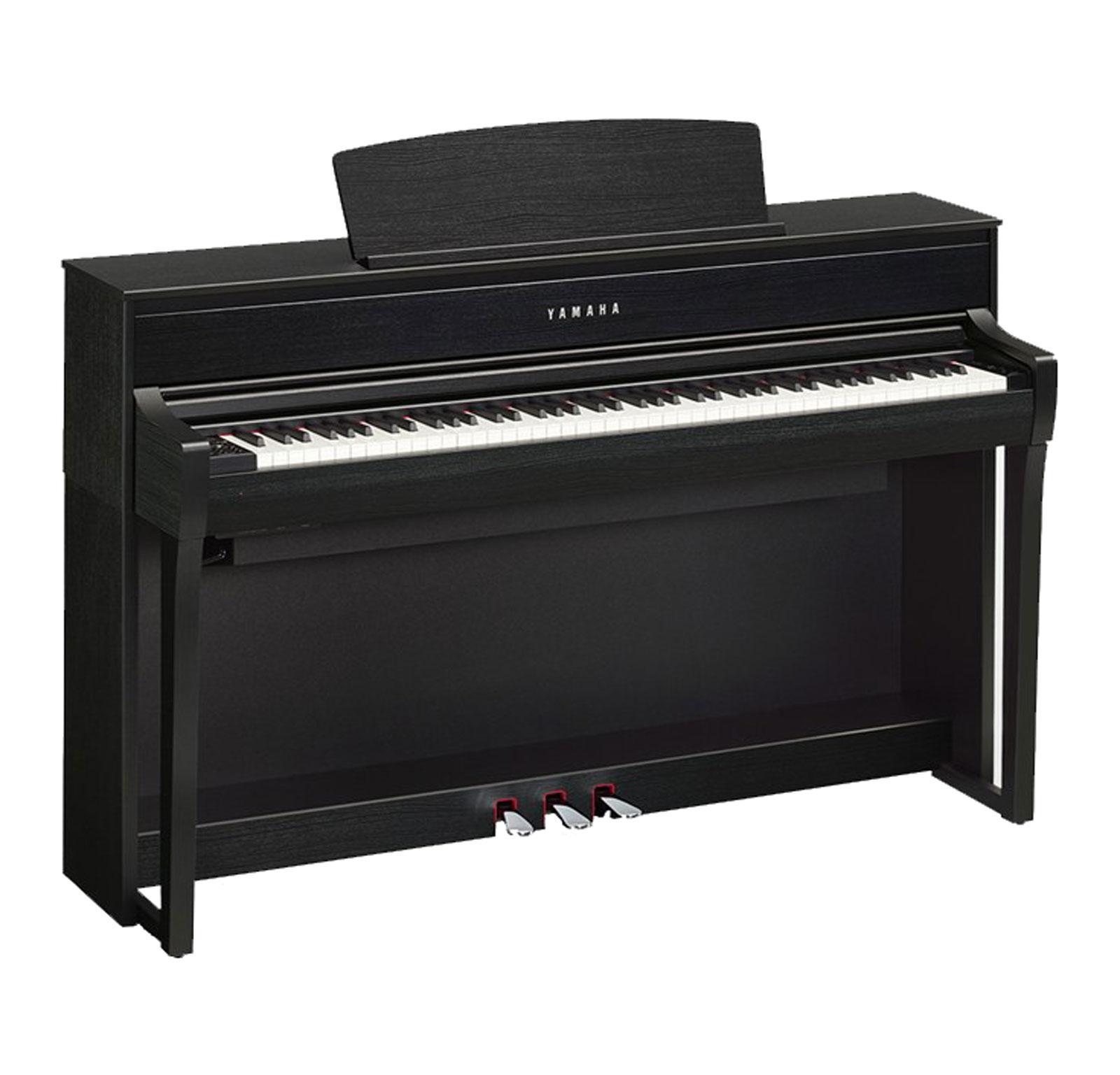 Yamaha CLP 675 B Digitalpiano schwarznuss