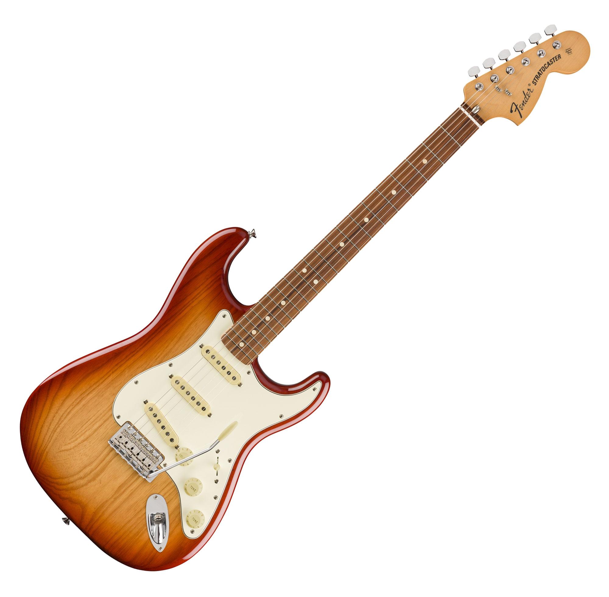 Egitarren - Fender Vintera '70s Strat PF SSB - Onlineshop Musikhaus Kirstein