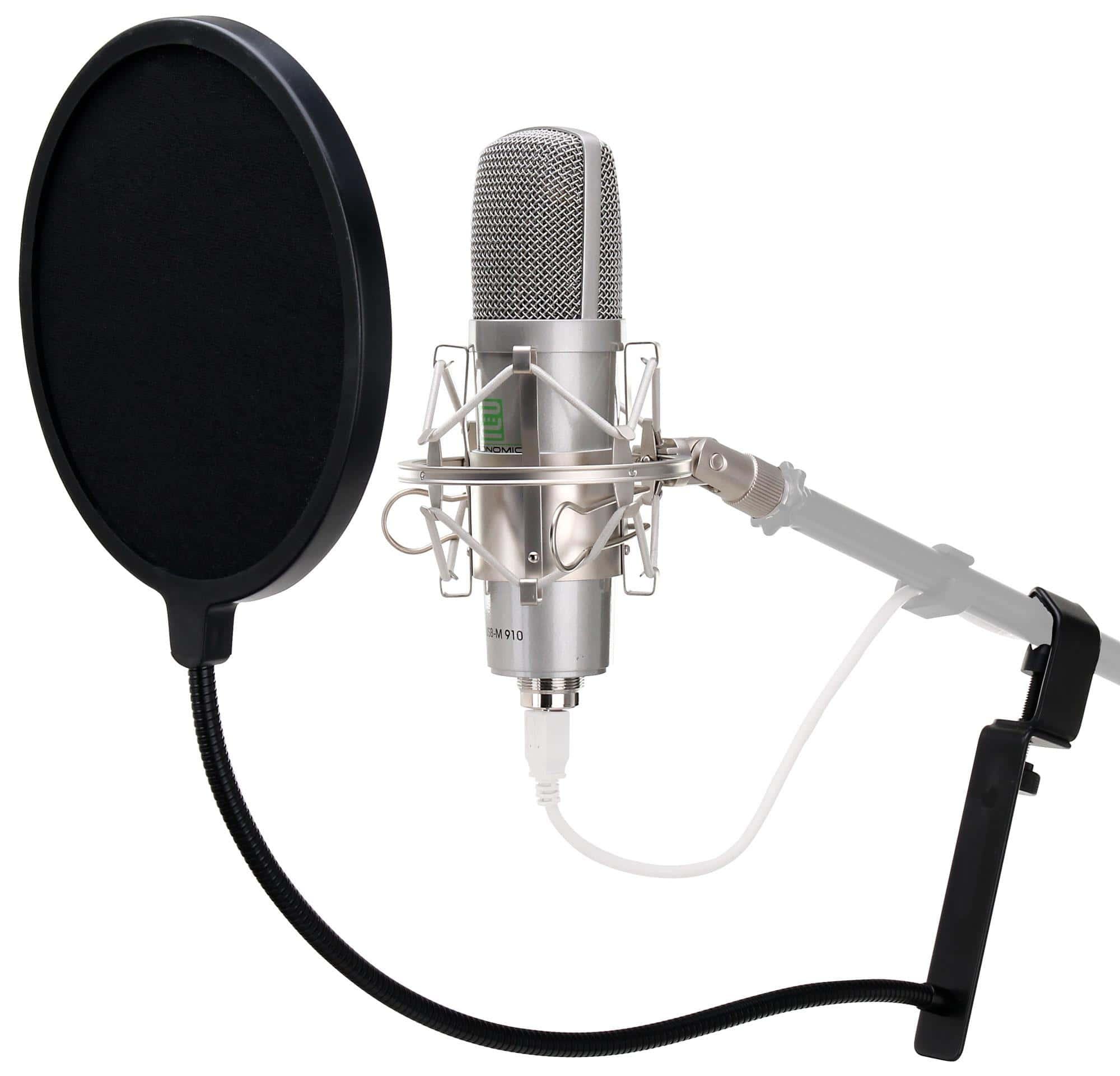 Mikrofone - Pronomic USB M 910 Podcast Kondensatormikrofon Popschutz - Onlineshop Musikhaus Kirstein
